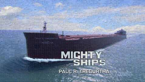 Могучие корабли 1 сезон 5 серия. Судно-лейкер Paul R. Tregurtha / Mighty Ships (2008) HD