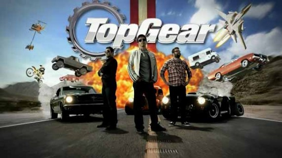 Топ Гир Америка 4 сезон 4 серия. Сухопутные баржи / Top Gear America USA (2015)